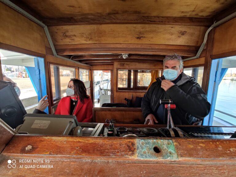 Giulianova, 'Fishing for Litter': dimostrazione di raccolta rifiuti in mare a bordo delle vongolare