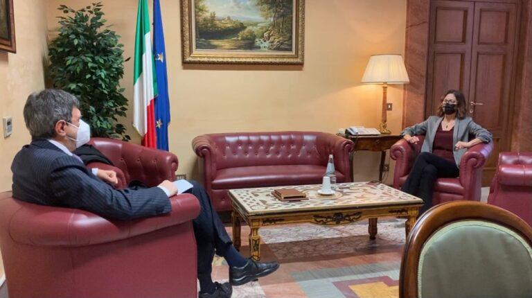 Conferma servizi essenziali: Marsilio incontra il Ministro Gelmini VIDEO