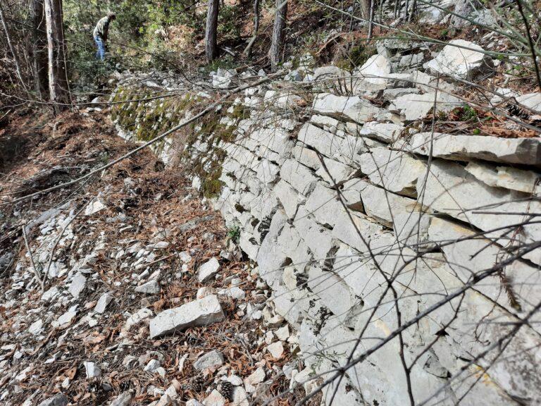 Campli, il Monticchio: la riscoperta dei sentieri centenari