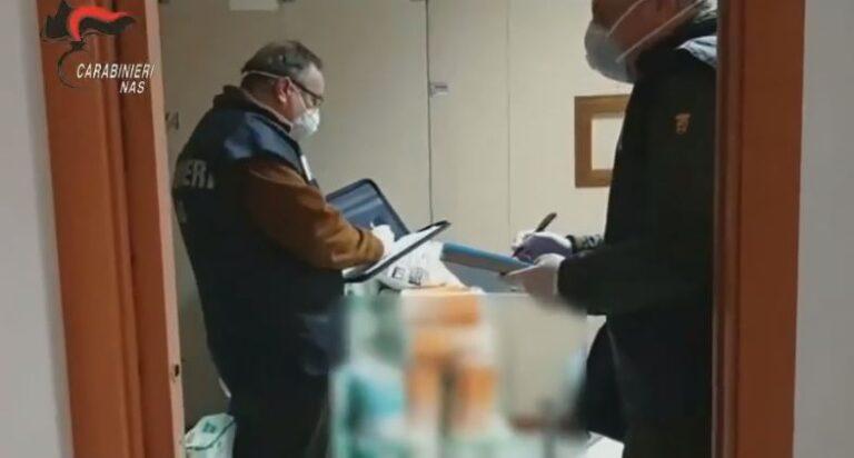 Pescara, controlli dei Nas nelle Guardie Mediche: farmaci e sicurezza carenti