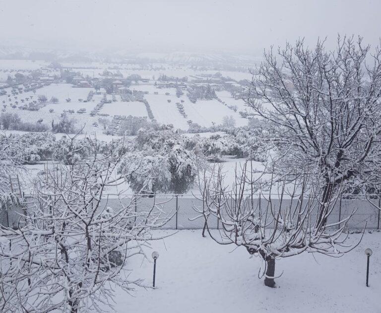 Nevica in Abruzzo: la situazione sulle strade