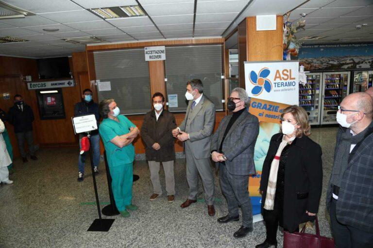 Sant'Omero, le visite negli ospedali e gli sgarbi istituzionali: il caso