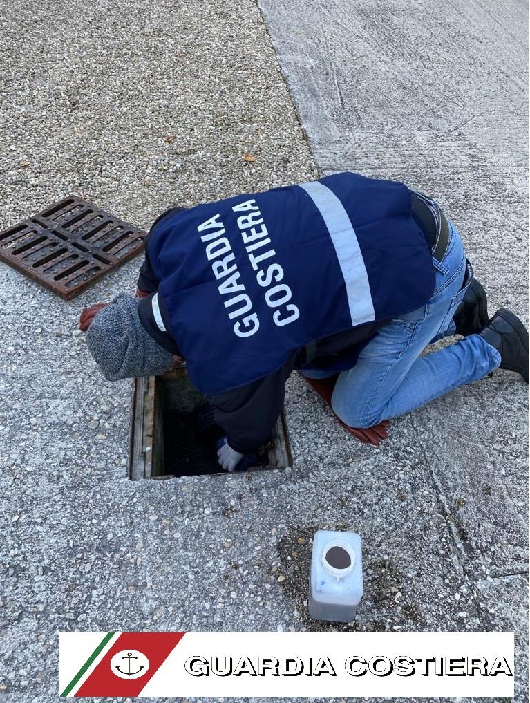 Scarichi abusivi delle acque di lavorazione del pellame: controllo della guardia costiera di Giulianova