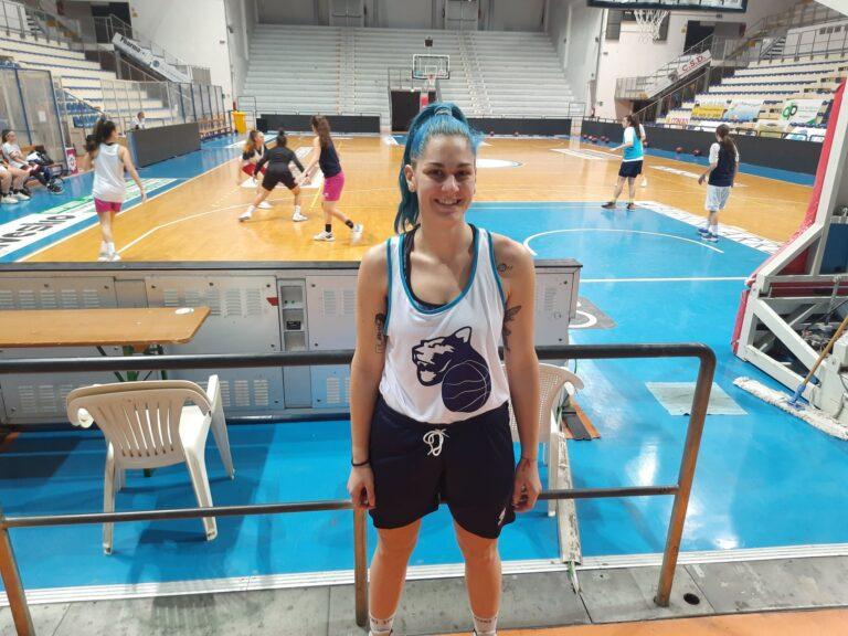 Basket, rinforzo di spessore per le Panthers Roseto: arriva Roberta Lunadei