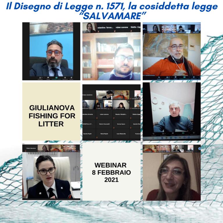 Giulianova, webinar 'marine litter' dell'Ente Porto per la pulizia dei rifiuti in mare