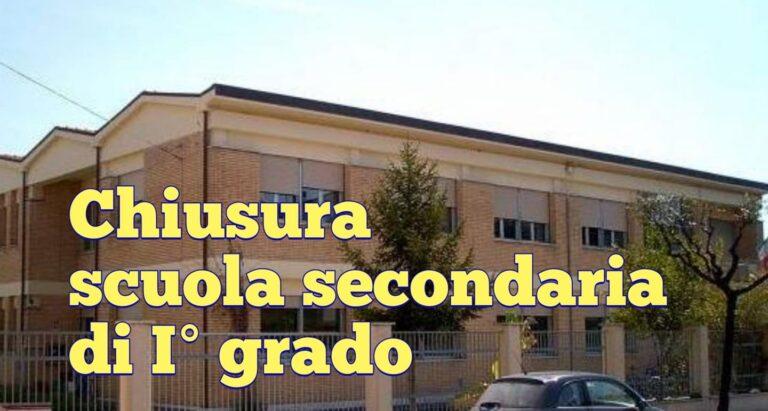 Covid, ad Alba Adriatica chiude la scuola media
