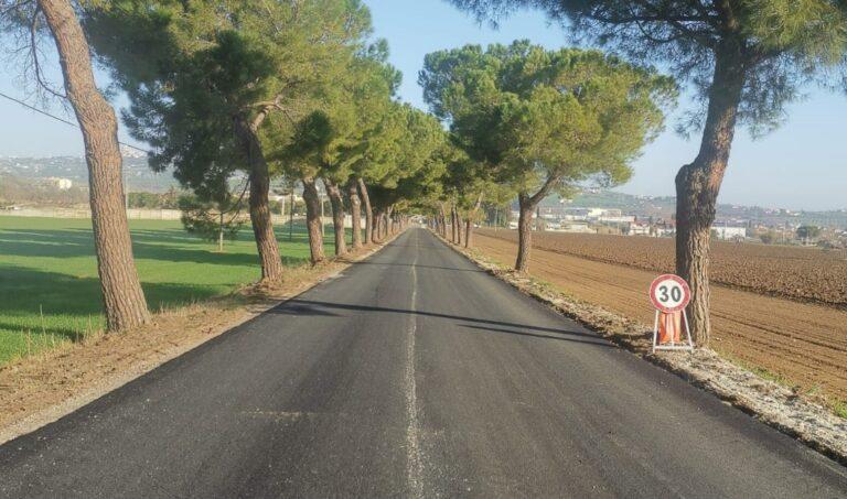 Alba Adriatica, via del Vecchio Forte: iniziati i lavori dell'attesa sistemazione