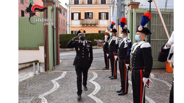Il Generale Mezzavilla in visita al Comando Legione Carabinieri Abruzzo e Molise in Chieti