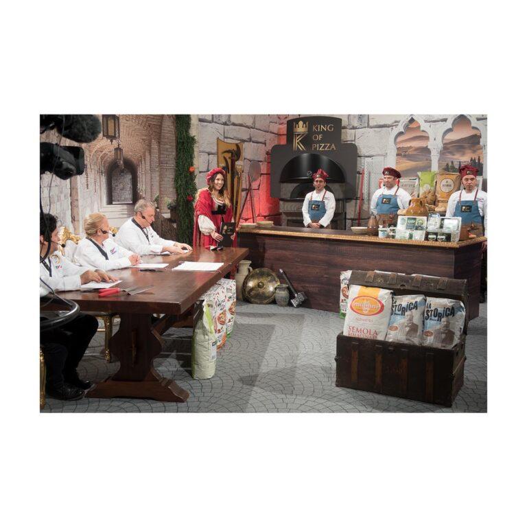 Chef Gaetano La Mastra semifinalista programma The King of Pizza