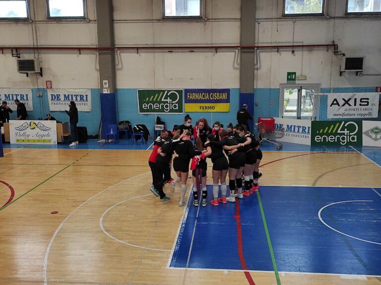 Volley B2/F, la LG Teramo cade a Porto San Giorgio (3-0)