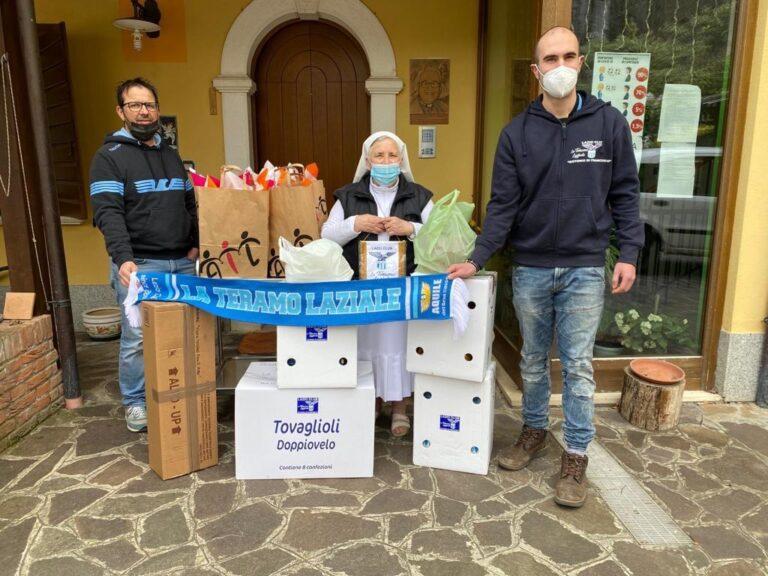"""""""La Teramo Laziale"""" consegna uova di Pasqua alla casa famiglia di Isola del Gran Sasso"""