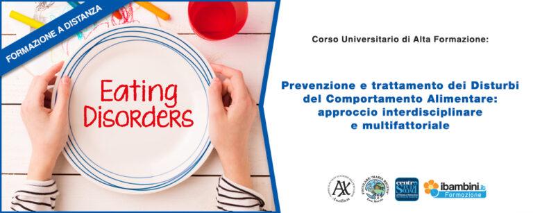 Disturbi del comportamento alimentare: corso di specializzazione per professionisti