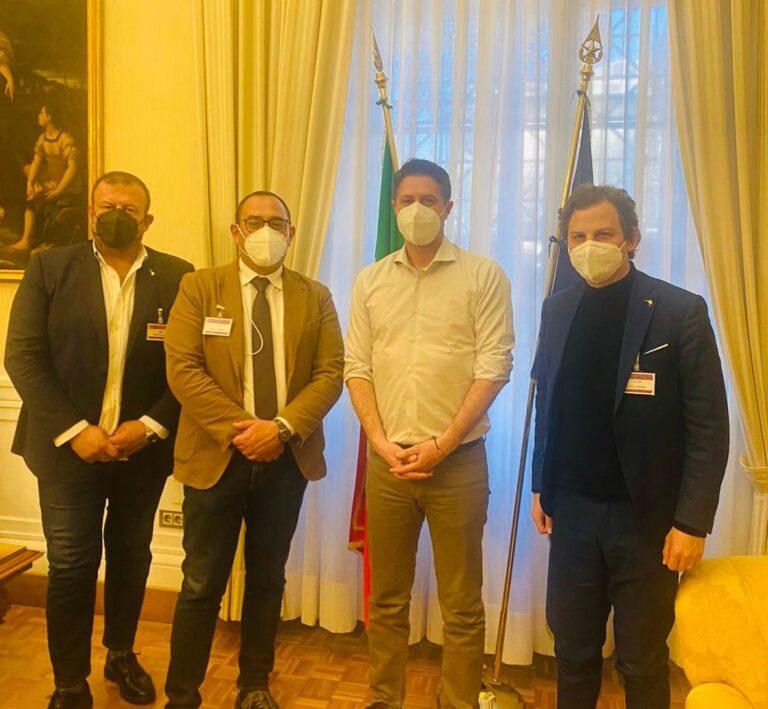 Sicurezza, Zennaro e Imprudente incontrano il vice-ministro Molteni