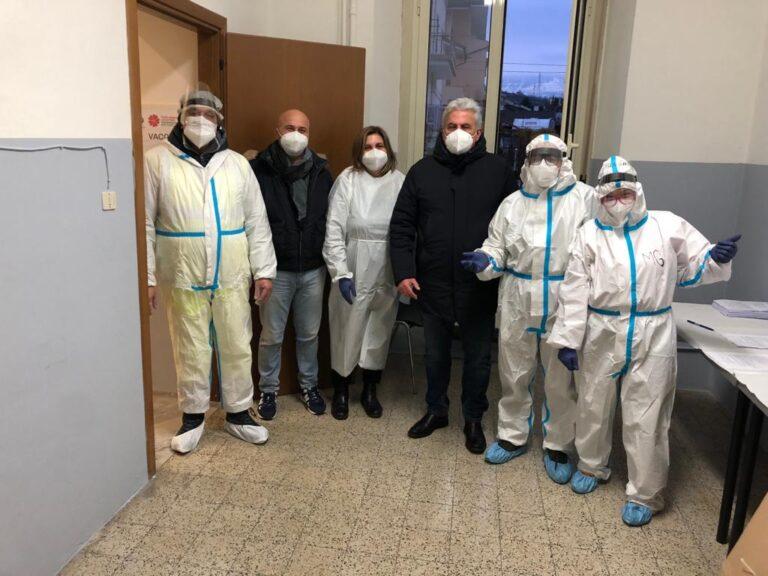 Screening a Bolognano: nessun positivo al Covid