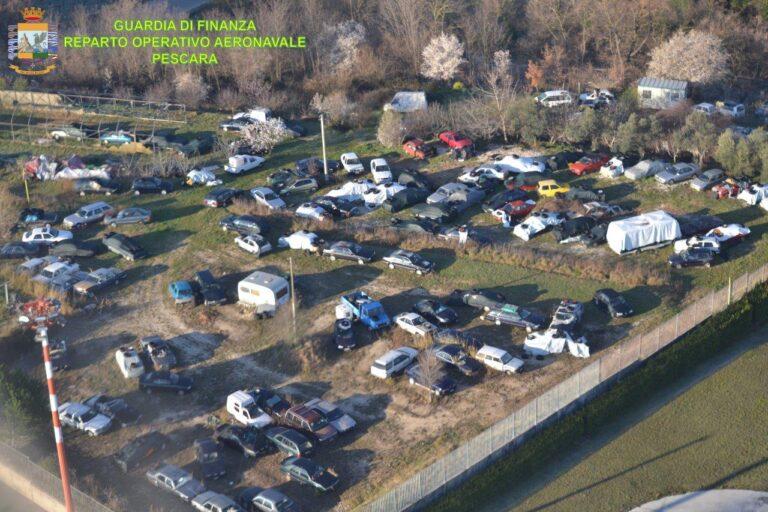 Ortona, la Finanza scopre 7000 metri 1 quadri di discarica: proprietari completamente evasori-VIDEO