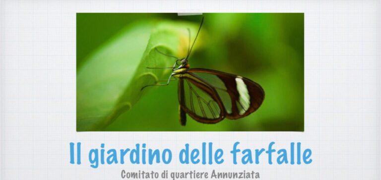 Giulianova, un giardino delle farfalle al parco dell'Annunziata