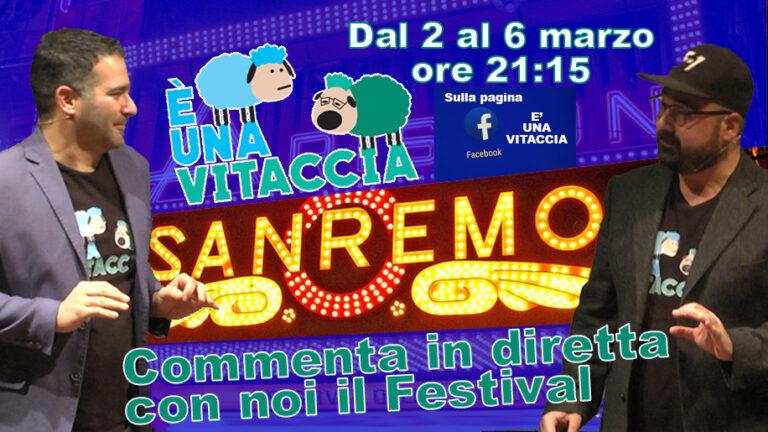 """Sanremo 2021 commentato in chiave abruzzese dal duo """"E' una vitaccia"""""""
