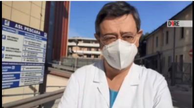 Covid Pescara: 42 pazienti in terapia intensiva, ospedale al completo
