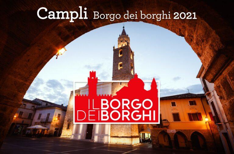 Il borgo 2021: Campli in corsa per l'Abruzzo