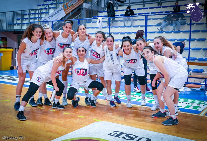 Basket, tornano in campo le Panthers Roseto: al PalaMaggetti arriva Orvieto