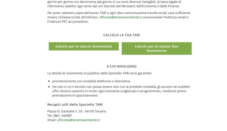 """Nuovo sito per la TeAm: bollette """"simulate"""" e dizionario dei rifiuti. """"Ora si pensa ai cittadini, prima no"""" VIDEO"""