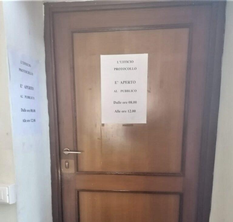 Sant'Omero, ufficio protocollo chiuso. Minoranza: nuovo disservizio