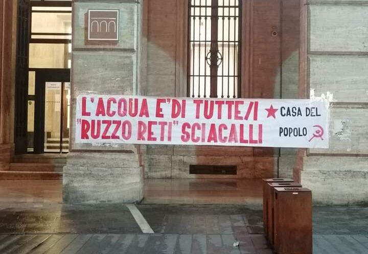 """Teramo, """"Blocchiamo le bollette del Ruzzo"""": l'iniziativa di Casa del Popolo"""