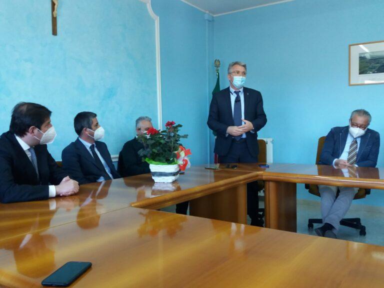 A Castilenti la firma che dà avvio ai lavori del Masterplan per la sicurezza viaria della Val Fino