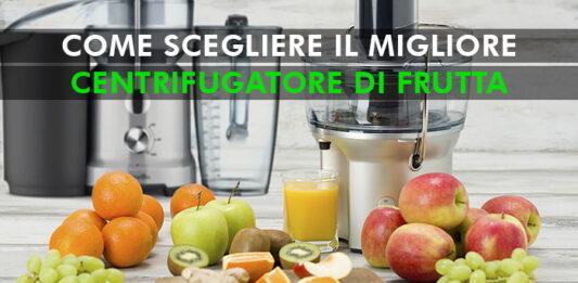 centrifugatore di frutta