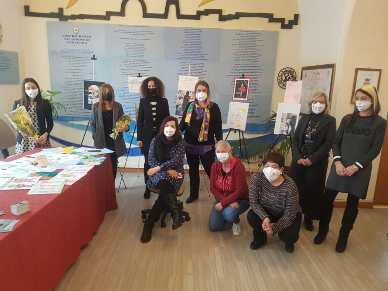 Giulianova, gli studenti raccontano l'8 marzo: il progetto artistico della Commissione Pari Opportunità