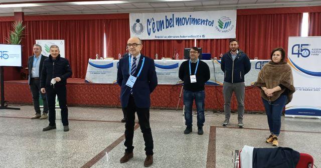 Federazione Italiana Pallavolo Abruzzo, concluse le elezioni: Fabio Di Camillo confermato presidente