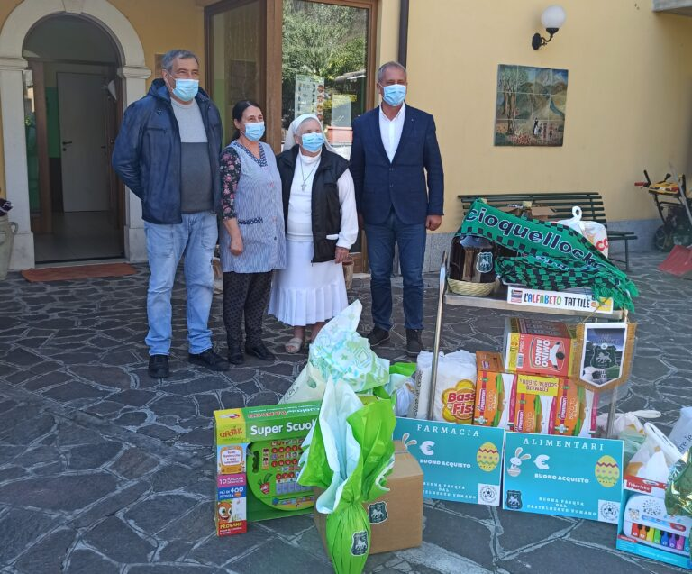 La Pasqua solidale del Castelnuovo Calcio: l'iniziativa
