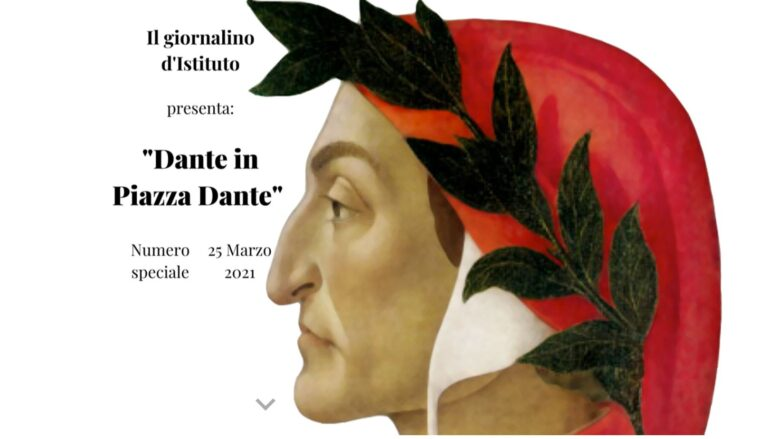 Anniversario Dante: numero speciale del Giornalino dell'IIS Delfico-Montauti di Teramo