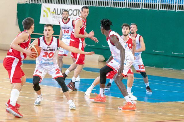 L'Unibasket Lanciano piega l'Amatori Pescara nel derby d'Abruzzo