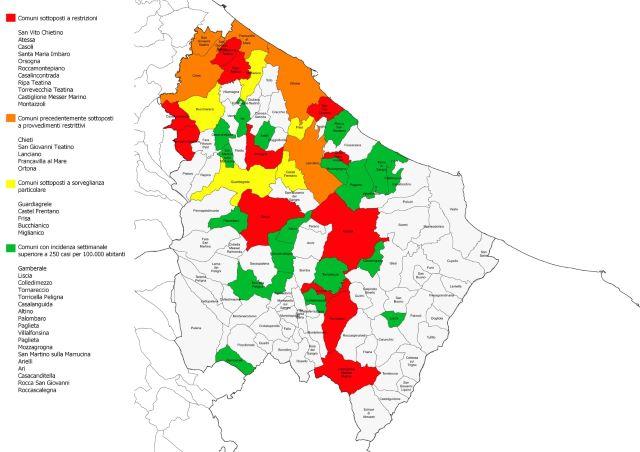 Covid-19, si estende la vaccinazione in provincia di Chieti