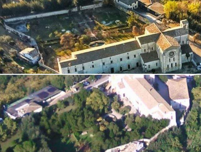 Manoppello, parte la raccolta firme per il giardino dell'Abbazia di Santa Maria Arabona