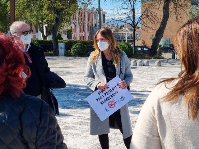 No Pet su Tir, Marcozzi partecipa alla manifestazione a Chieti