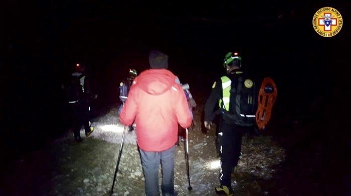 Recuperati nella notte i tre dispersi a Valle d'Agri