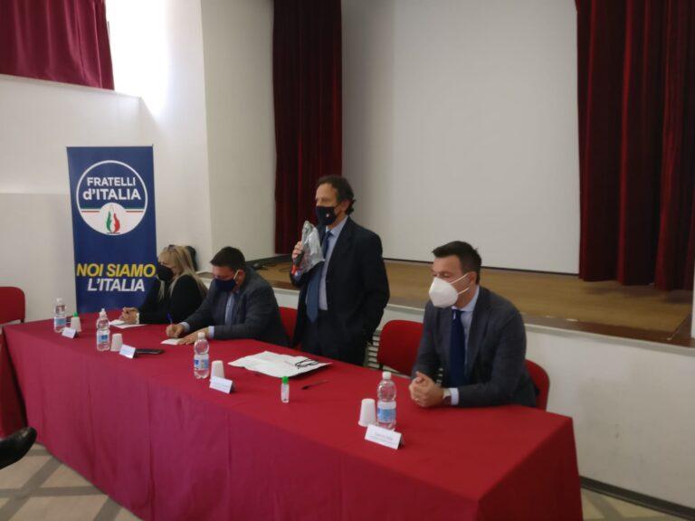 Umberto D'Annuntiis passa a Fratelli d'Italia: l'annuncio. Mutano equilibri in Regione VIDEO
