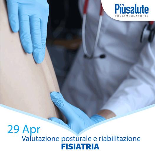 Giovedì 29 aprile, Giornata di valutazione posturale da Più Salute