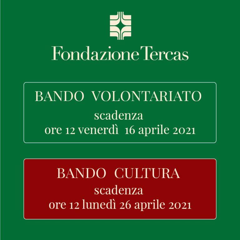 Fondazione Tercas: da oggi online il bando per il settore cultura