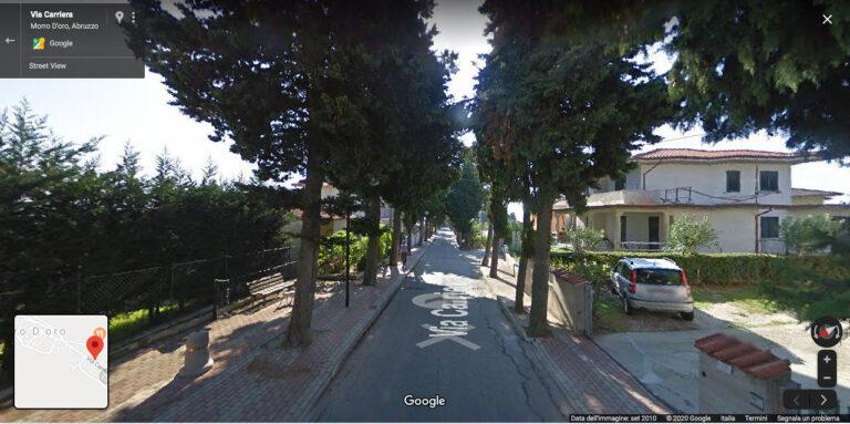 Morro d'Oro, PD contro l'abbattimento delle 29 piante in via viale di Carriera
