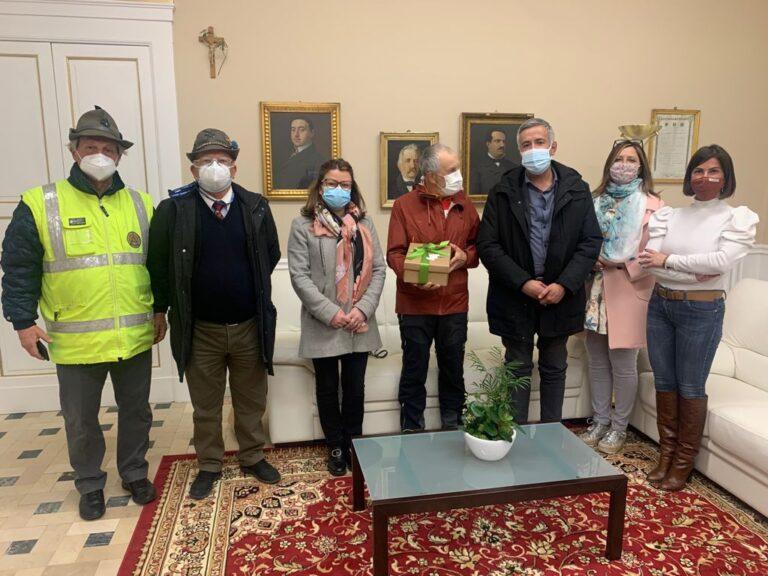Sclerosi tuberosa: il cammino di Elio Brusamento fa tappa ad Atri