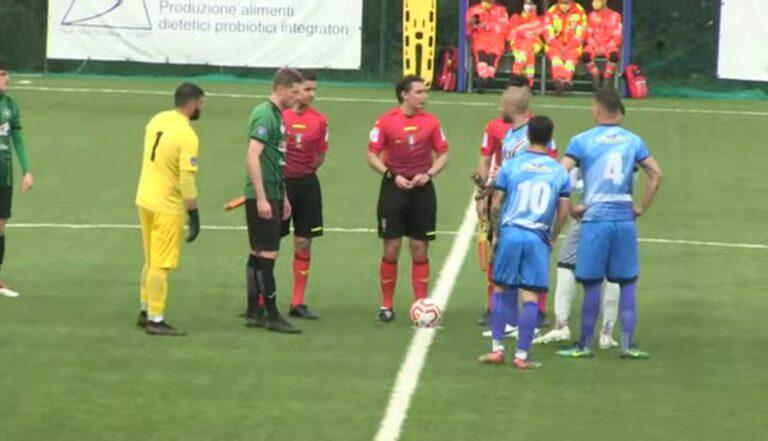 Serie D, pirotecnico 3-3 tra Castelnuovo e Cynthialbalonga
