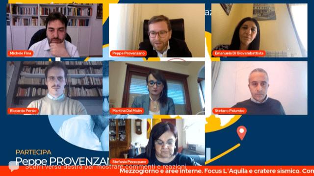 Abruzzo, le opportunità dal Recovery Plan. Il vicesegretario Provenzano all'incontro del PD