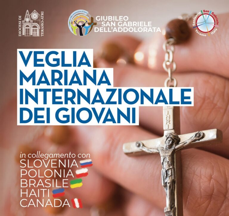 Santuario di San Gabriele, quarta Veglia Mariana Internazionale dei Giovani