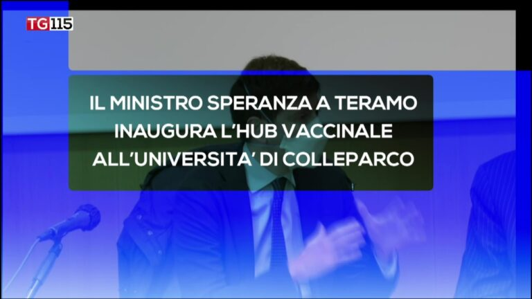 TG Web Abruzzo 19 aprile 2021 – R115 VIDEO