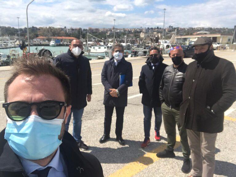 Giulianova Fishing for Litter, incontro al Porto con il vicepresidente regionale Imprudente