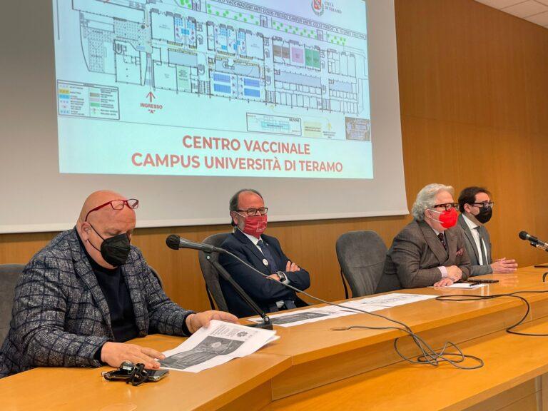 Al via le vaccinazioni degli studenti iscritti all'Università di Teramo