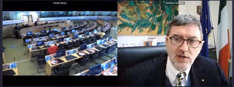 """Conferenza delle Regioni dell'Unione Europea. Marsilio: """"sostenere gli aeroporti regionali"""""""